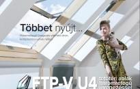 Fakro Ftp-V U4 Tetőtéri Ablak – Elérhető Energiahatékonyság A Tetőtérben