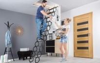 Padlásfeljáró lépcsők, a felesleges kerülgetés helyett