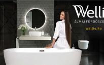 Valósítsa meg álmai fürdőszobáját a Wellis prémium termékeivel!