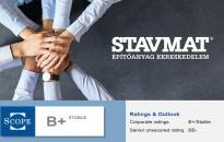 Ismét kiemelkedő vállalati siker a STAVMAT háza táján