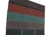 Guttatec Top téglány zsindely, 3 m2/csomag, fekete, zöld, barna, vörös