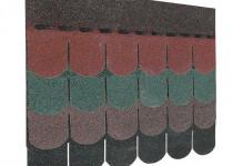 Guttatec Top hódfarkú zsindely, 3 m2/csomag, fekete, zöld, barna, vörös