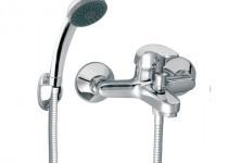 FERRO VASTO króm kádtöltő csaptelep és zuhanyszett