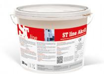 ST line Akril  homlokzati díszítő fedővakolat, I. színcsoport, 30 kg