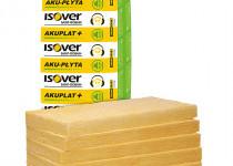 AKUPLAT+75 üveggyapot lemez, 1200x600 mm, 8,64 m<sup>2</sup>/csomag