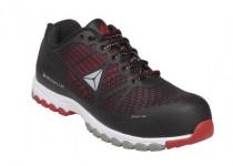 Delta sport cipő S1P fekete/piros, 39-estől 47-es méretig
